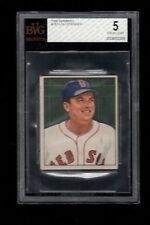 1950 Bowman BB #187 Lou Stringer Boston Red Sox BVG EX 5 !!!