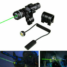 Combo Dual Ring Red/Green Dot Laser Sight +20mm Scope Mount Rifle Picatinny Rail