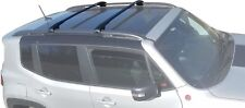 BRIGHTLINES CROSS BAR CROSSBARS ROOF RACK FOR 2015-2018 JEEP RENEGADE AERO STYLE