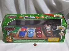 NEW Disney Cars Mater Saves Christmas Gift Pack SEALED 6 Car Set Story Tellers