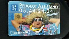 Télécarte Peugeot Assistance  (A8086)