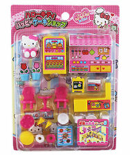 New Sanrio Hello Kitty Figurine Playhouse ~ Kid's Coffee Shop Bakery Toy Set