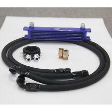 7 Row AN10 Aluminum Engine Oil Cooler +Filter Plate Adapter Kit  M20 1/8 NPT