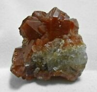 QUARTZ w Red HEMATITE, Raw Crystal Cluster - Gift, Home Decor, Stones, 12453