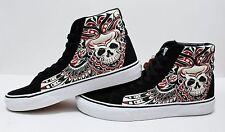Vans SK8 Hi Reissue Stormy Bird Black True White Men's Size 10.5