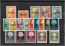 Netherlands West New Guinea - 1962 UNTEA overprints. MNH set of 19. Cat £84.