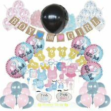 Baby Gender Reveal Party Supplies Decorations