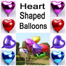 Wedding Birthday Balloons Heart Latex Foil Kids Boy Girl Baby Party large small