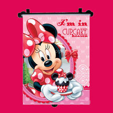 Disney Minnie Car Window Roller Blind Sun Shade Children Kids Baby Boy Girl 1pc