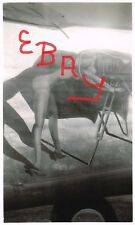 """WWII PHOTO LOT B-24 BOMBER 90TH BG 5TH USAAF NEW GUINEA """" PHOTO QUEEN"""" NOSE ART"""