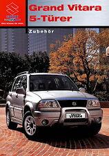 Prospekt 2003 Suzuki Grand Vitara 5 Türer Zubehör 2 03 brochure Auto Pkw Japan