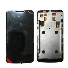 For Motorola Moto X Play XT1562 LCD Touch Screen Display Digitizer Black + Frame