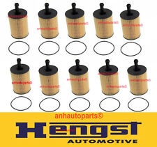 Set of 10 Oil Filter Kits HENGST Audi A3 TT VW Beetle VR6 Jetta TDI 071115562C