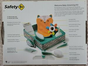 Safety 1st Baby Newborn Care 21 Pcs Healthcare & Grooming Kit Set New