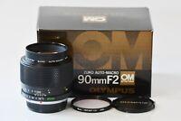 [Mint in Box] OLYMPUS OM-SYSTEM ZUIKO AUTO-MACRO 90mm F2 from Japan O265
