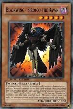 Yu-Gi-Oh Yugioh Blackwing - Sirocco the Dawn GLD3-EN023 Common Mint!