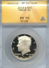 2019-S San Francisco Clad Proof Kennedy Half Dollar ANACS PF 70