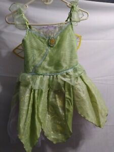 Disney Store Tinkerbell Costume Girls Size Large 10 wings