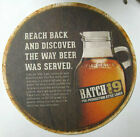 BATCH 19 PRE-PROHIBITION LAGER 6 inch Beer COASTER Mat, Coors, COLORADO (c) 2012
