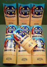 LOT OF 10  VINTAGE SANTA FE FOODS BRAND BROOM LABELS NATIVE AMERICAN INDIAN