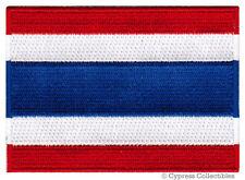 THAILAND FLAG embroidered iron-on PATCH Ratcha Anachak Thai EMBLEM APPLIQUE new