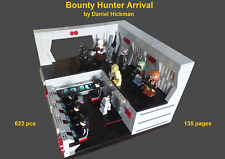 *custom* Lego Star Wars Bounty Hunter Arrival - instruction manual only