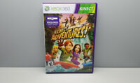 Kinect Adventures! Xbox 360 Kinect Video Game w/ Manual and Case Free Shipping