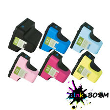 6 Ink Cartridge replace for HP 02XL Photosmart 3210v 8250 C5140 C7180 D7160