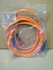 NEW  Siecor Fiber Optic Cable 10ft (3 meters) 62.5/125 micron