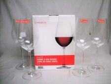 MIB 4 SPIEGELAU 19 oz RED WINE GLASS GOBLET Stemware Set Mint Box Crystal
