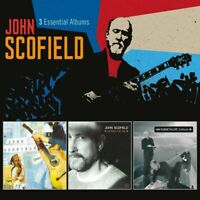JOHN SCOFIELD 3 Essential Albums 3CD BRAND NEW Quiet/Works For Me/Enroute