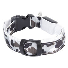 Battery / Rechargeable Camo Led Pet Dog Glow Collar Night Harness Flash Light