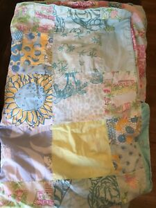 Timeless And Adorable Custom Made Reversible Lilly Pulitzer Twin Duvet Cover