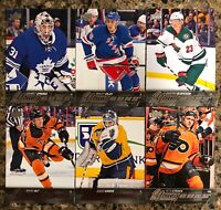 2015-16 Upper Deck Young Guns Lot (6) Saros Skjei sparks