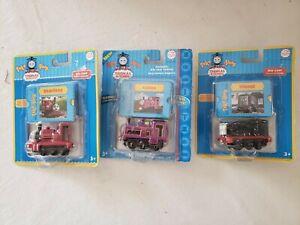 Thomas & Friends Take Along Diesel, Skarloey, Culdee Die Cast --NIB