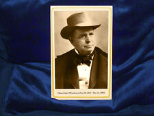 OLIVER WINCHESTER Firearm Inventor Cabinet Card Photo NRA A+ Reprint Vintage CDV