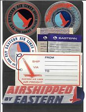AIRLINE COMPANY LABELS- About 7 Eastern Airlines- 2-3 better