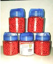 2000 pcs airsoft PaintBall Pellets 6mm for BB Guns in Blood Red