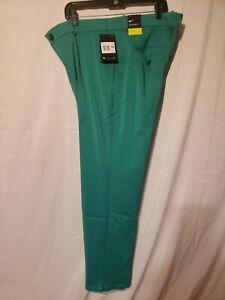 Nike Flex Golf Pants Green  AJ5489-370 Dri-Fit Standard Fit 38x30