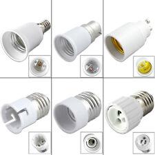 B22 E27 E14 Bulb Base Converter Light Socket Adaptor Extender LED Lamp Holder D