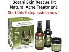 BOTANI Skin Rescue Kit ( Natural Acne Treatment )  Start this 3 steps system now