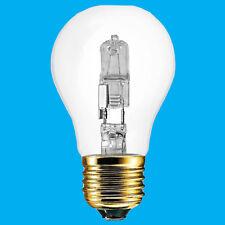 10x 60W(=85W) Clear Halogen GLS Energy Saving Light Bulb ES E27 Screw Lamp