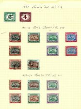 More details for sudan  (a1a-2) postage dues range on page 1897-1927 inc shades x 15 mm 2 used