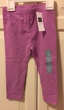 Baby Gap pink leggings size 2 years BNWT