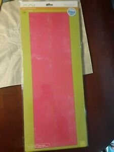 """GO! accuquilt Fabric Cutting Die Strip Cutter 3 1/2"""" Cutting Mat 10""""x24""""  #55032"""