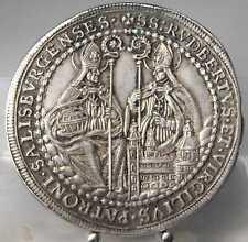 RRR!! 1/2 Taler 1700, Salzburg, Thun-Hohenstein, Silber