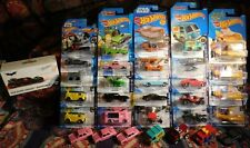 32 Hot Wheels SCREEN TIME Lot 4 Diff Subs Premium Mystery Machine Mario Cool One