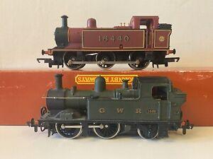 Airfix OO Gauge GWR 14xx 0-4-2 Tank Locomotive & Hornby Jinty 16440 Non-Runners