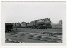 CHICAGO BURLINGTON QUINCY Railroad CBQ Train REAL PHOTO Photograph RR Railway