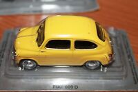 FIAT - 600 D - 1960 - SCALA 1/43